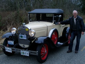 Bill Day & Nellie, his 1930 Model A