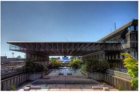 Convocation Mall SFU Wikipedia photo