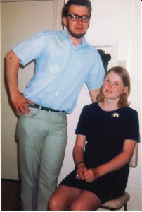Art & Linda During the Dating Years