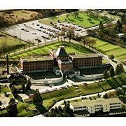 1987 Aerial Photo of Oakalla Prison Main Hall,  Runagate Pictures