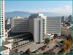 Vancouver General Hospital, where Simon received treatment