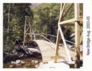 Ted Thompson's Magnificent Suspension Bridge