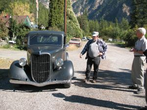 Leroy Fague and 1936 Ford