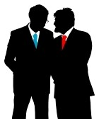 5377422-two-businessmen-talking