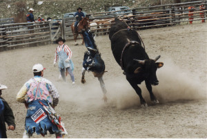 Chopaka Rodeo, photo by permission of Nancy Allison