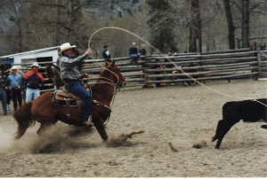 Chopaka Rodeo, photo permission by Nancy Allison