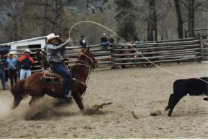 Chopaka Rodeo, photo permission by Nancy Allison