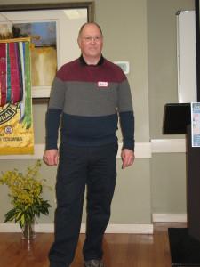 David Hobson, a Distinguished Toastmaster