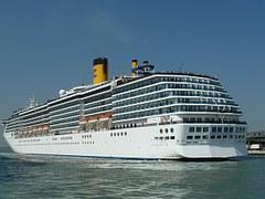 Cruise ship honeymoon