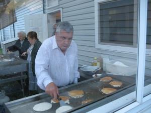 George Koene Flipping Pancakes