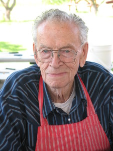 Jack Woods has been a volunteer since 2003.