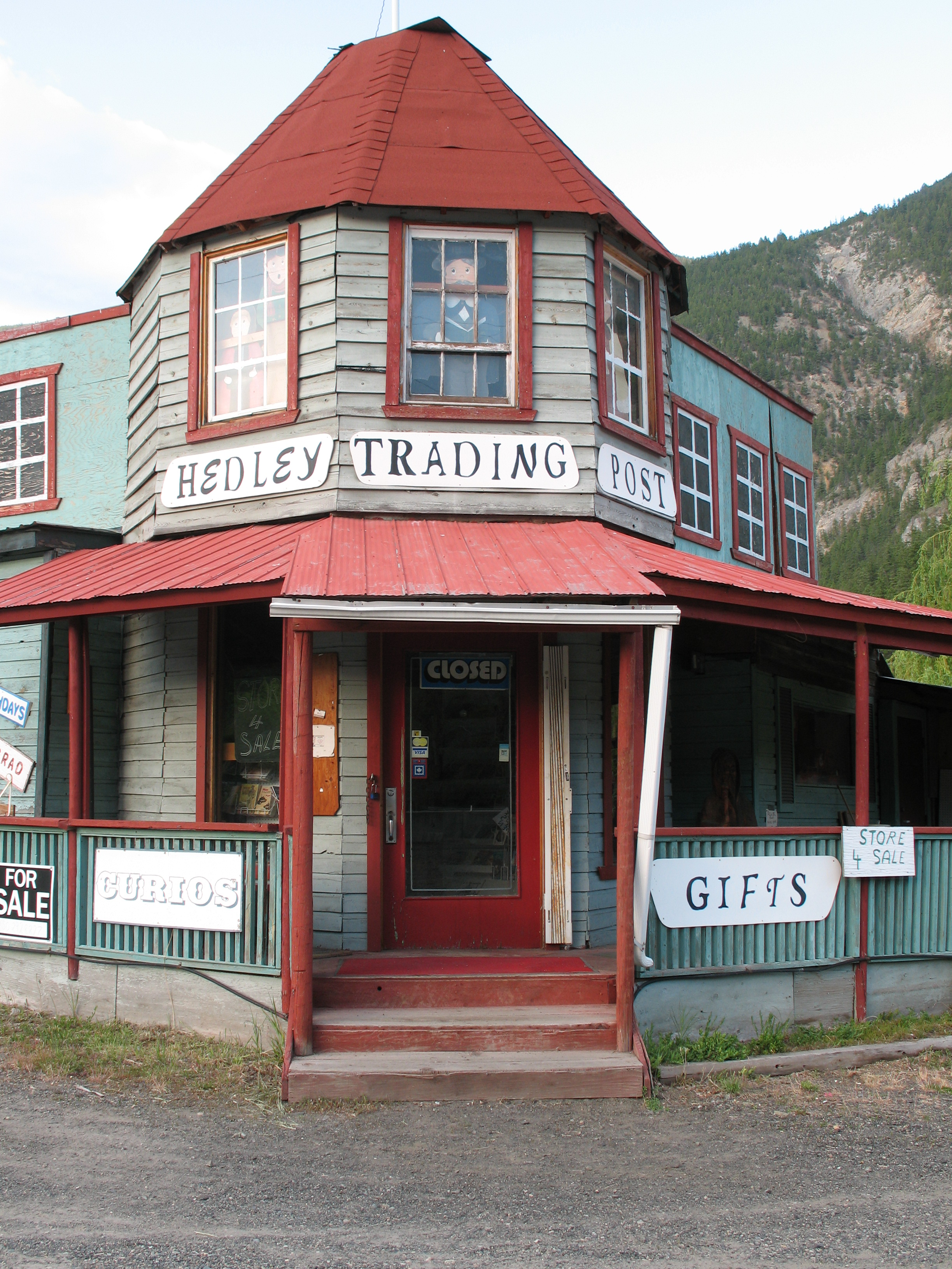 "Hedley Trading Post is ""For Sale"""