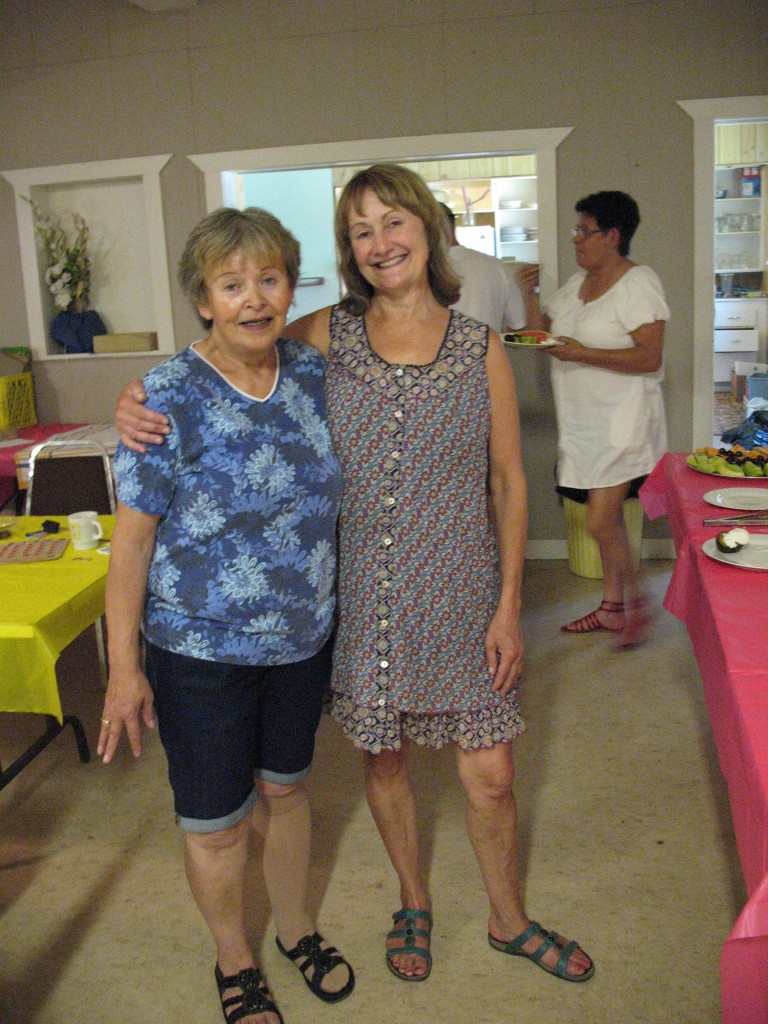 Shirley & TJ at the Hedley Community Club fundraiser