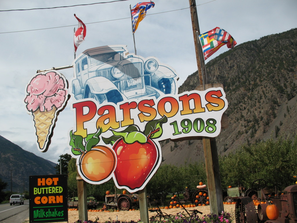 Parsons Fruit Stand has been in Keremeos over 100 years.