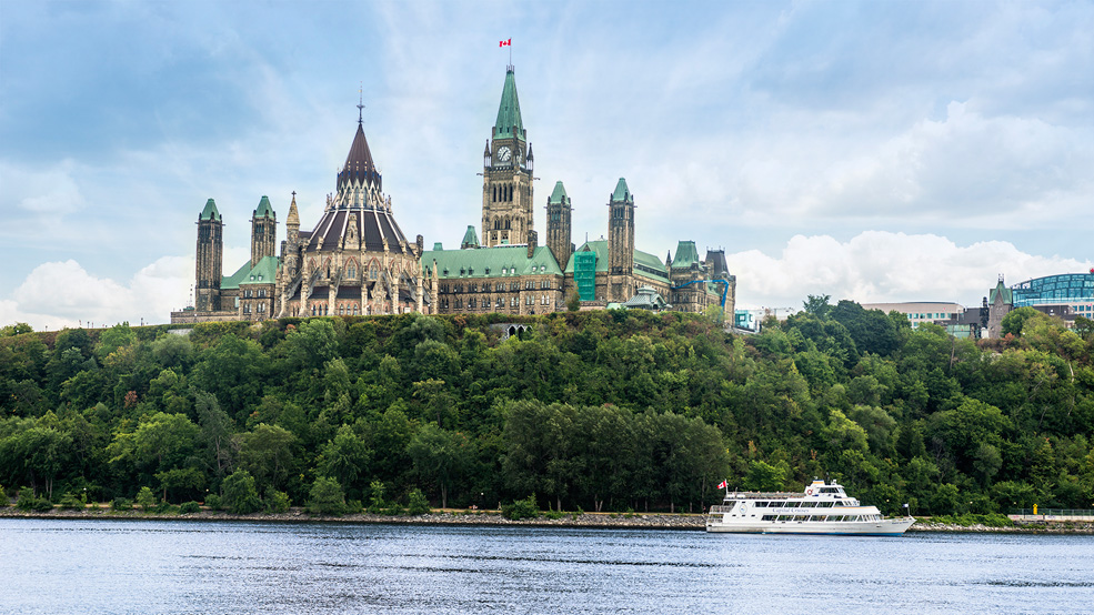 Parliament on Ottawa River