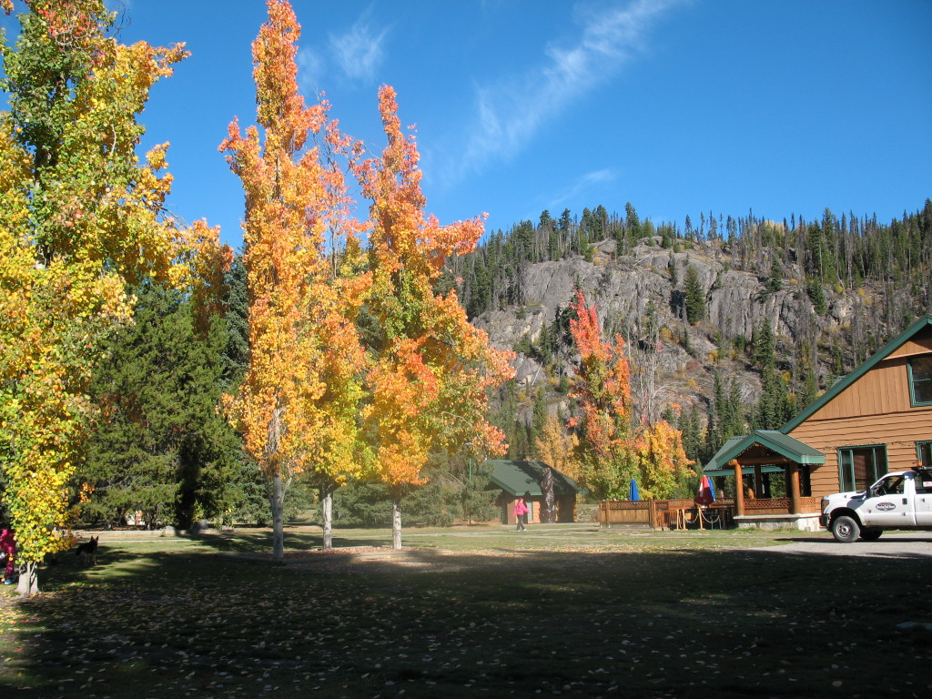 Manning Park Resort in Autumn