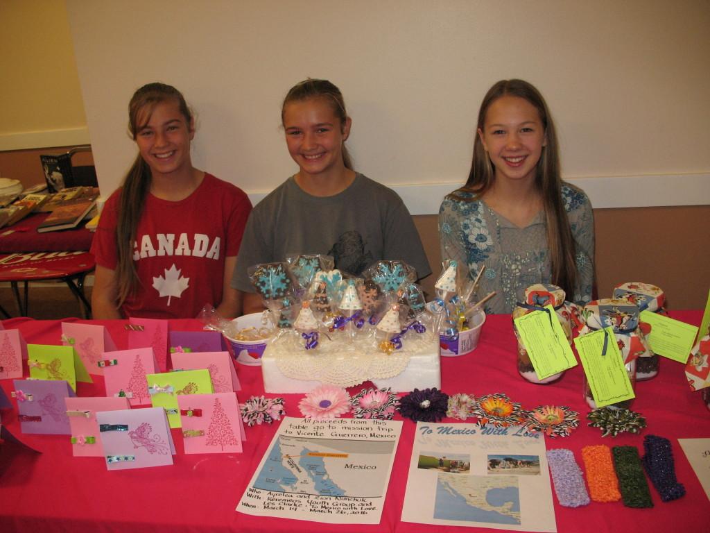 Stephanie, Heidi & Ayrelea (left to right)