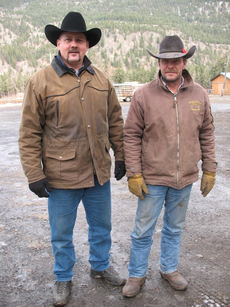Jay & Doug, the cowboy