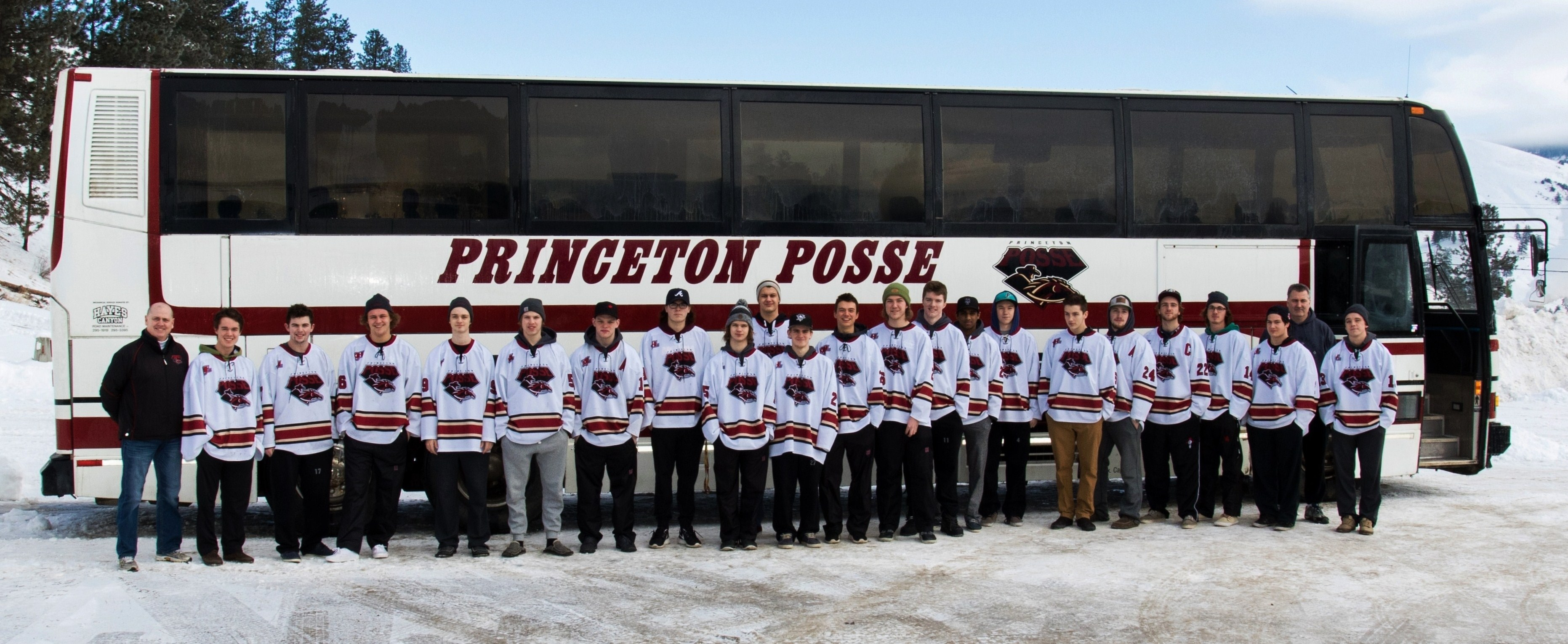 Princeton Posse Bus Team Photo, Courtesy of Princeton Posse