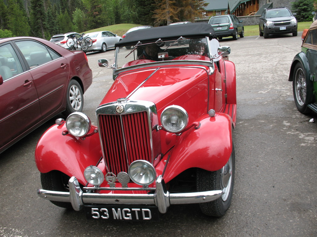Dave's 1953 MG TD