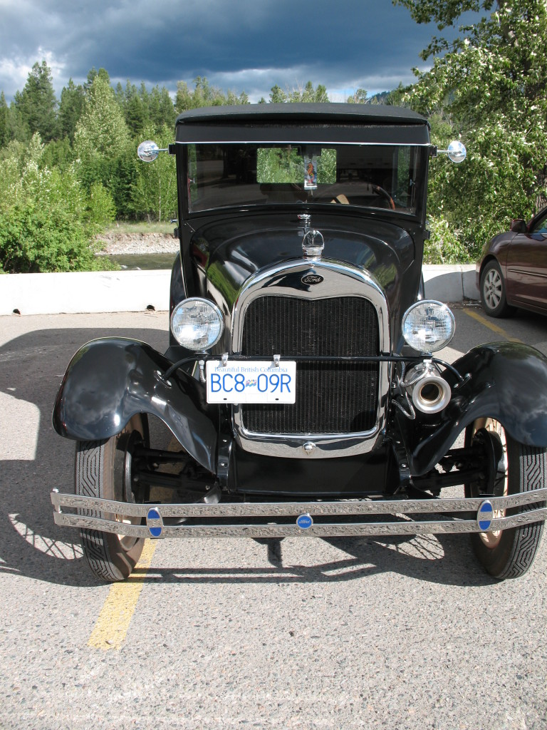 Model A in Princeton, BC