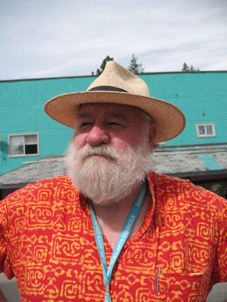 Jon Bartlett, one of the main organizers of the festival.