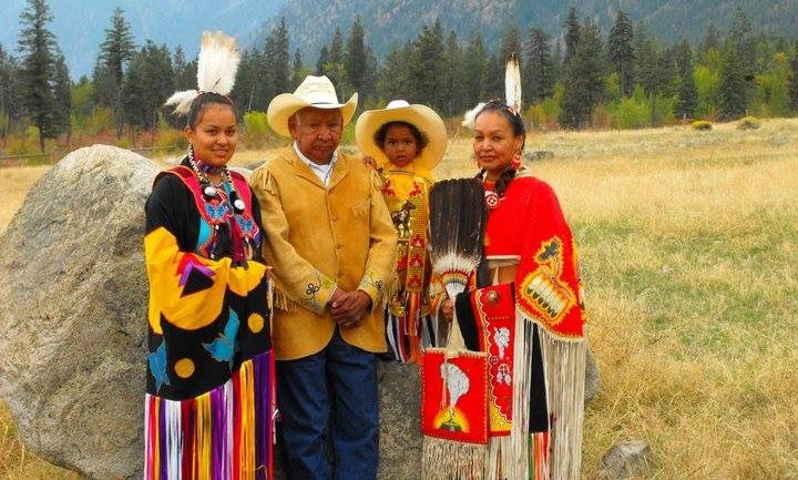 Photo credit to Cecilia Ralston. This photo was supplied by Lauren Terbasket & was taken about 4 years ago. Left to right: Tiinesha Begaye, John Terbasket, Krishon Terbasket, Lauren Terbasket