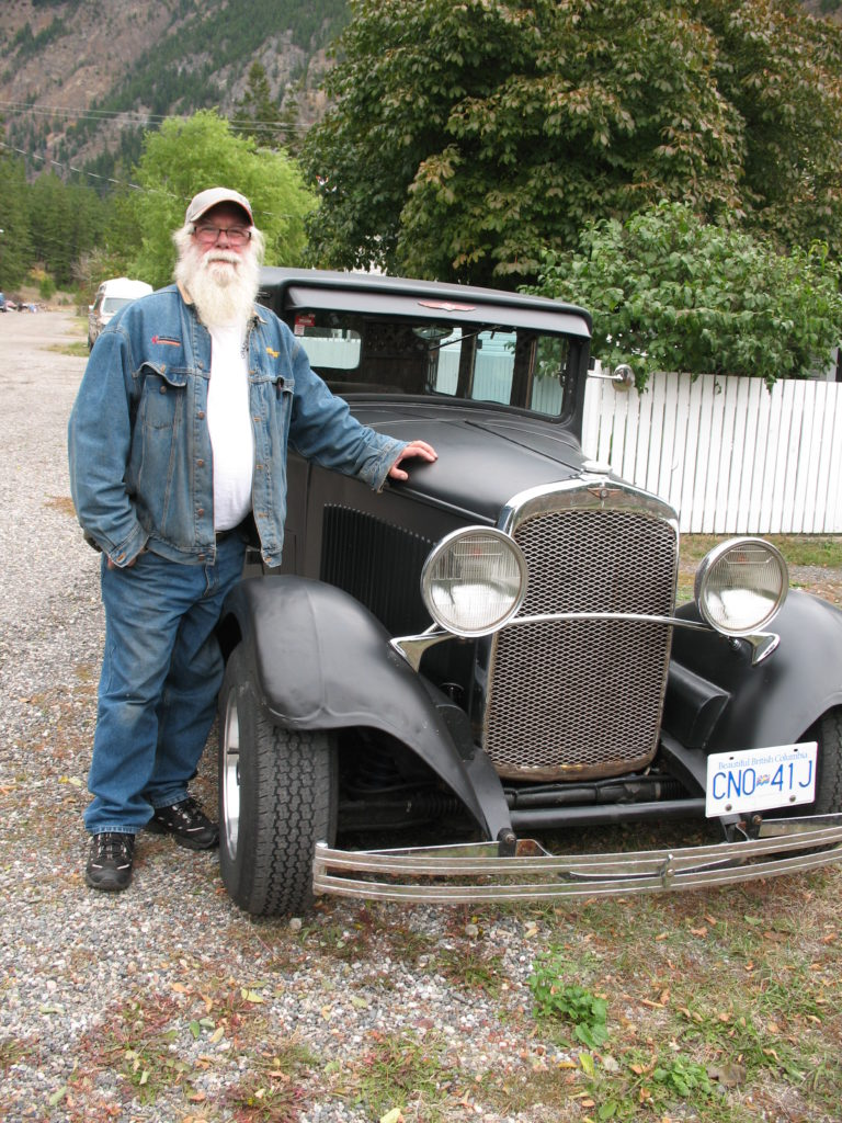 Dan Twizell & his 1929 Dodge