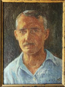 Richard Lindemere, a Self-Portrait (courtesy of Bill Day)