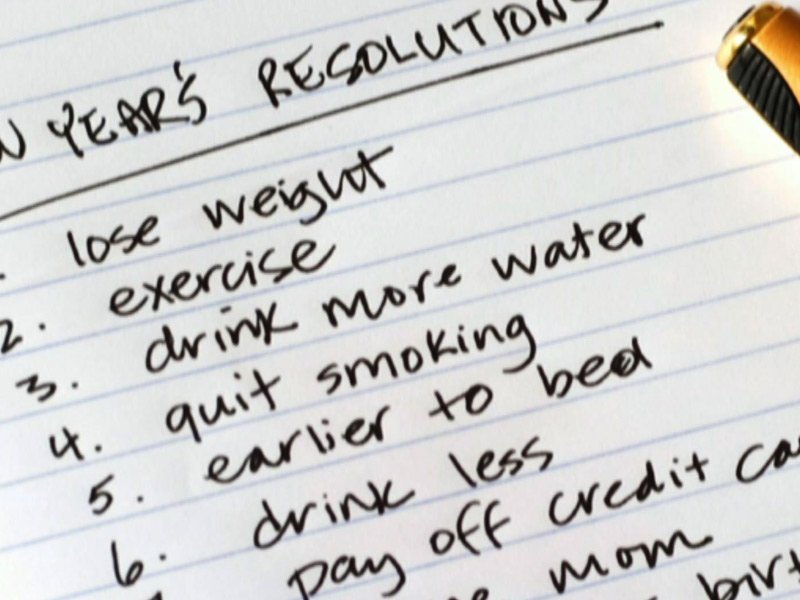 Thoughts About New Years Resolutions - Living Significantly