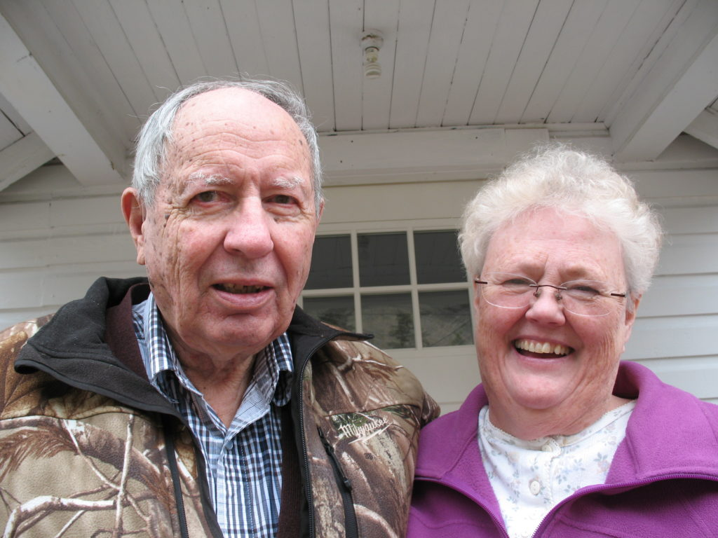 Vern & Cynthia Armstrong, residents of the Yukon.