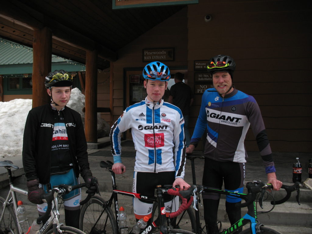 Cyclists At Manning Park